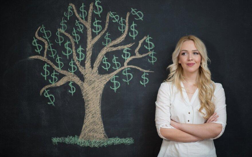 Didesnis atlyginimas padarys jus laimingesniais? Ekspertė įspėja: džiaugsitės labai trumpai