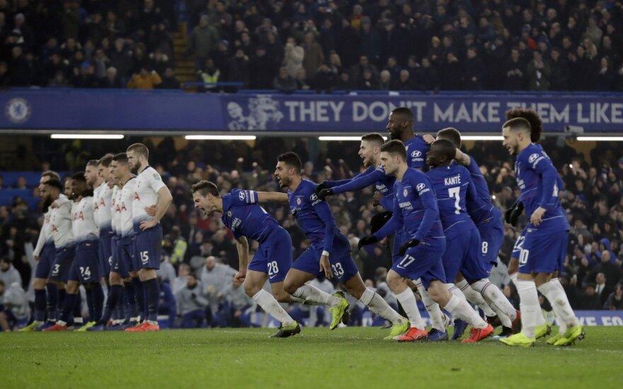 """Londono """"Chelsea"""" komanda"""