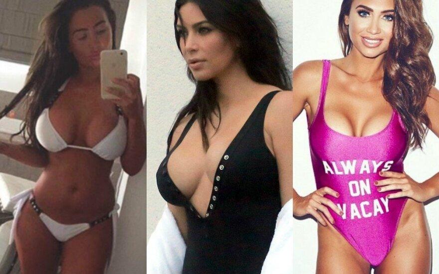 Lauren Goodger, Kim Kardashian
