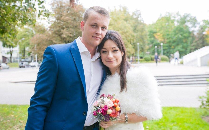 Rūta Lukoševičiūtė ir Marius Dauda