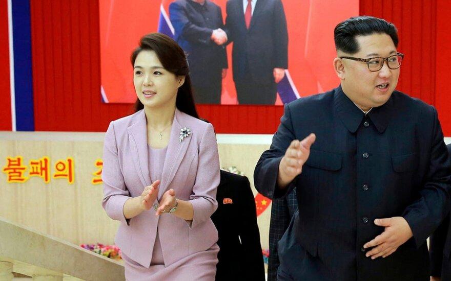 Kim Jong Unas, Ri Sol Ju