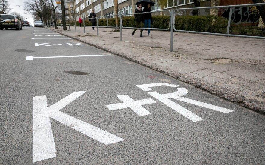 Minint Kovo 11-ąją Vilniuje numatomi laikini eismo ribojimai