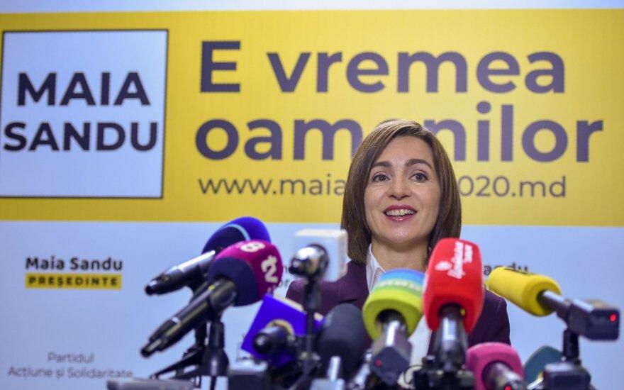 Maia Sandu, naujoji Moldovos prezidentė