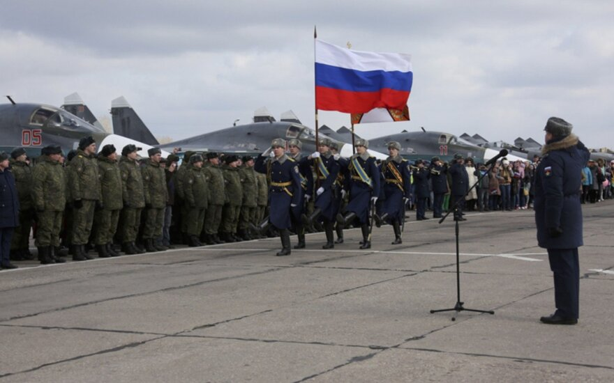 Spinning Russia's Syria exit