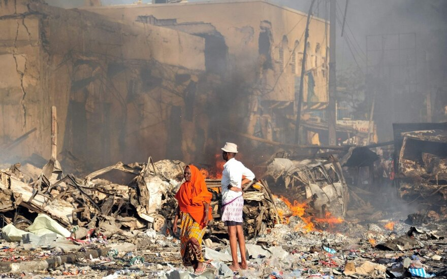 After the terror attack in Somalia