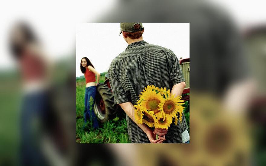 Pora, gėlės