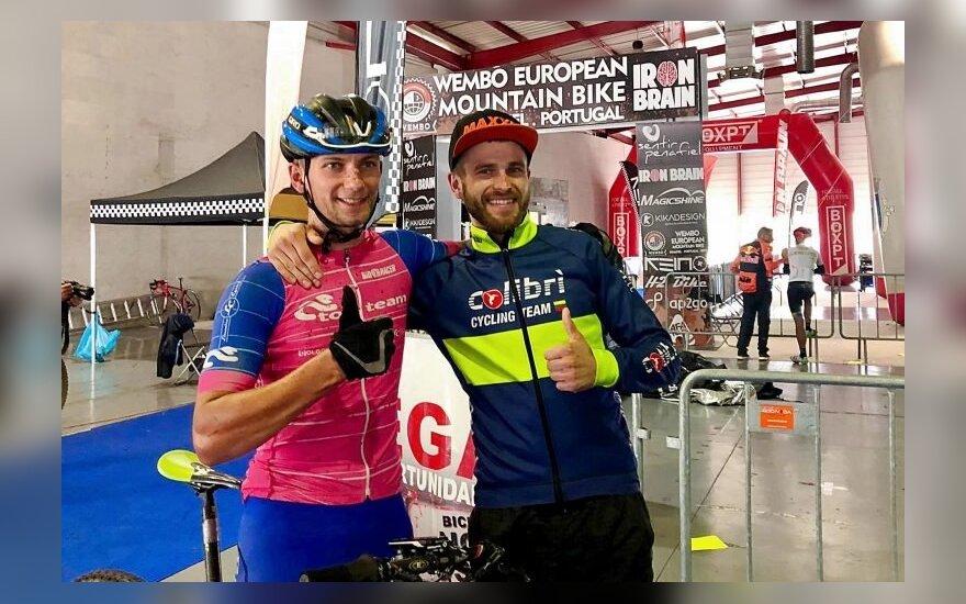 Andrejus Dolgovas ir Arnoldas Valiauga (Top Team nuotr.)