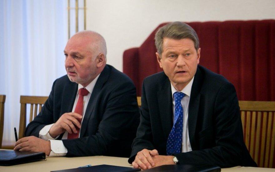 R. Paksas ir V. Mazuronis lieka EP euroskeptikų frakcijoje