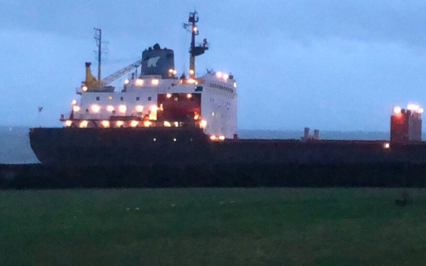 rusų krovininis laivas