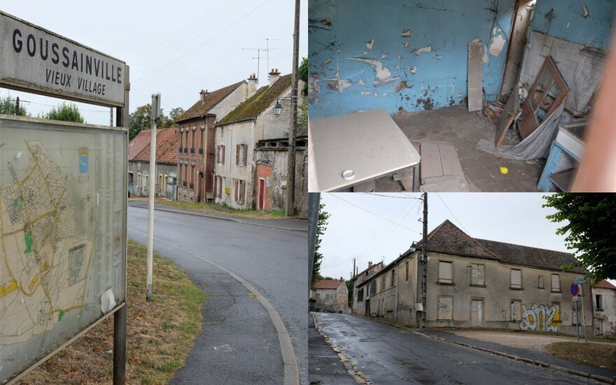 Miestas vaiduoklis Prancūzijoje