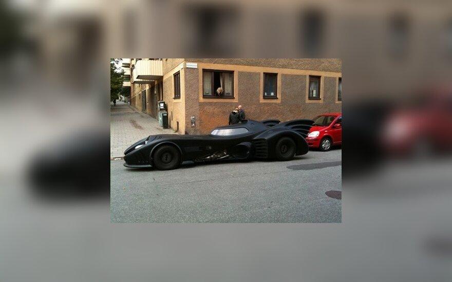 """Betmeno automobilio kopija Stokholme. """"bil.feber.se"""" nuotr."""