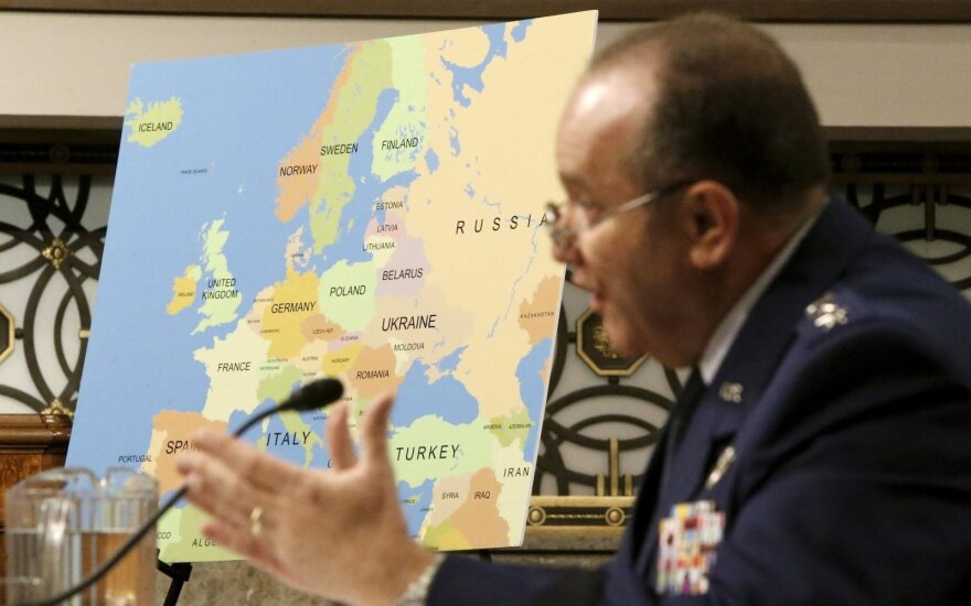 US Supreme Allied Commander in Europe General Philip Breedlove