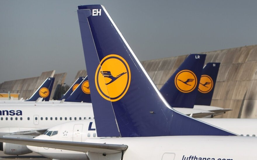 Lufthansa cancels Vilnius-Frankfurt flights due to pilots' strike