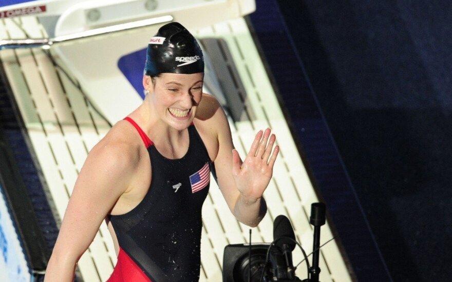 Penkiskart olimpinė čempionė Franklin baigia karjerą būdama vos 23-ejų