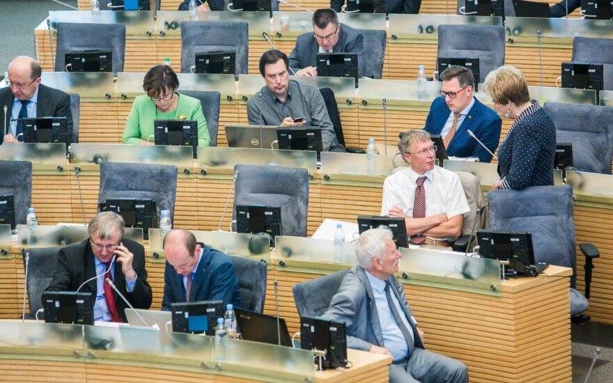 Kovotojai su korupcija atskleidė, kiek Seimo narių pranešė apie susitikimus su lobistais