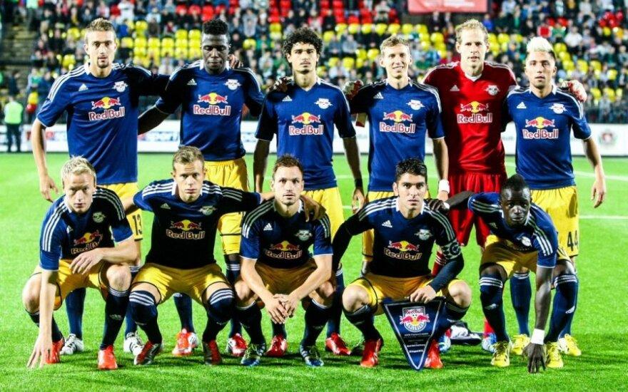 """""""Salzburg"""" futbolininkai"""