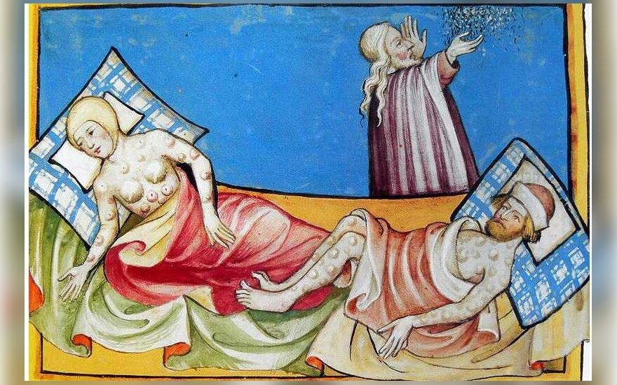 Maro aukos, XIV a. nežinomo autoriaus graviūra
