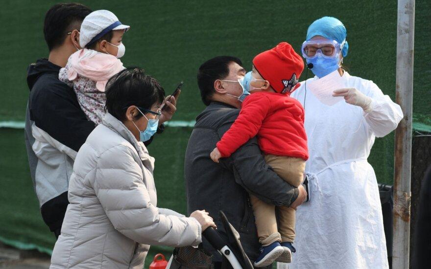 Pirmą kartą Tokijuje registruota daugiau kaip 100 koronaviruso atvejų per parą