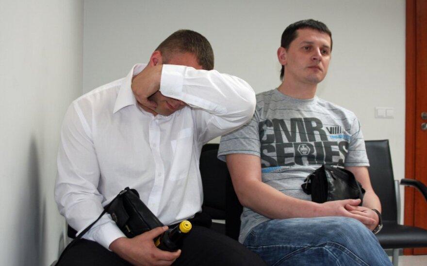 Arturas Tomaševičius (kairėje) ir Darijušas Aliukonis