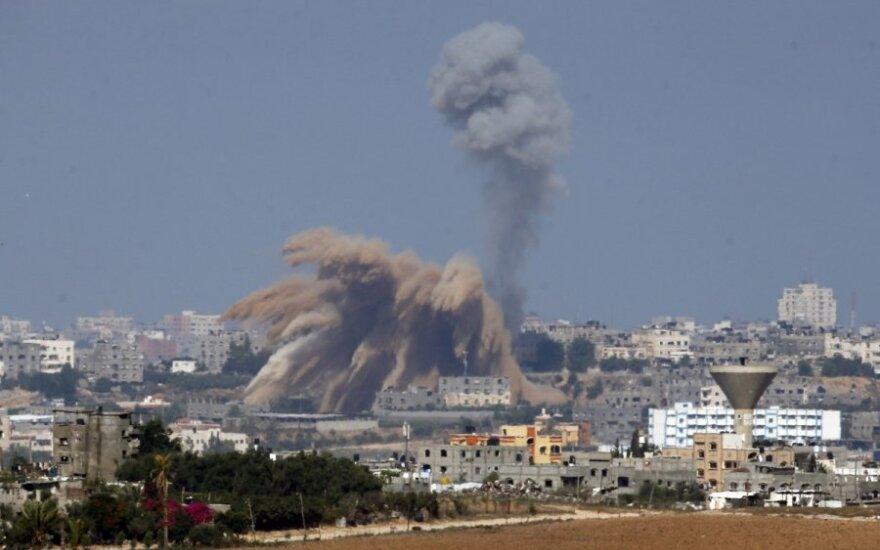 Izraelio kampanija prieš Gazą: 6-ta diena, 165 žuvusieji