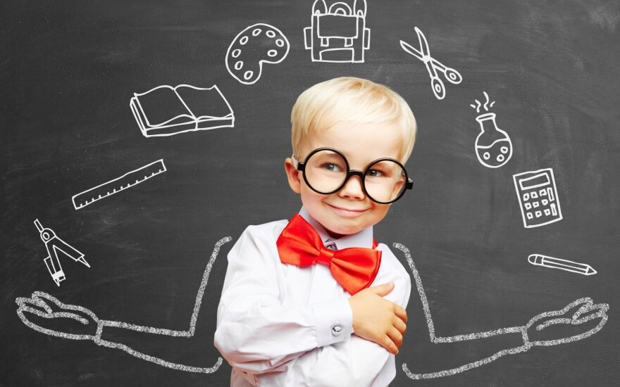 Pataria specialistas: kaip mokyti gabius mokinius?