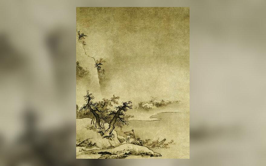 Japonų tapyba tušu