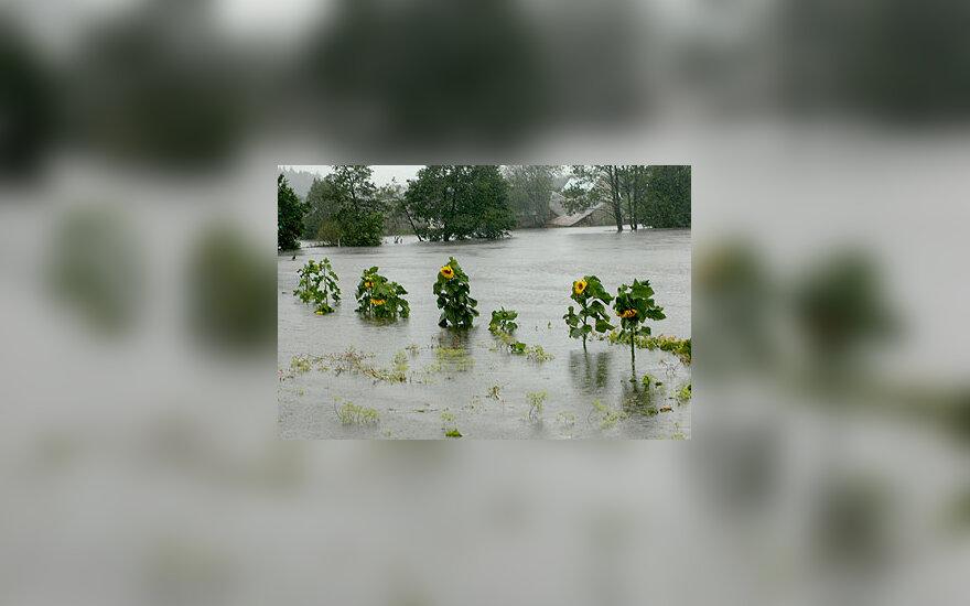 Potvynis Šalčininkų rajone