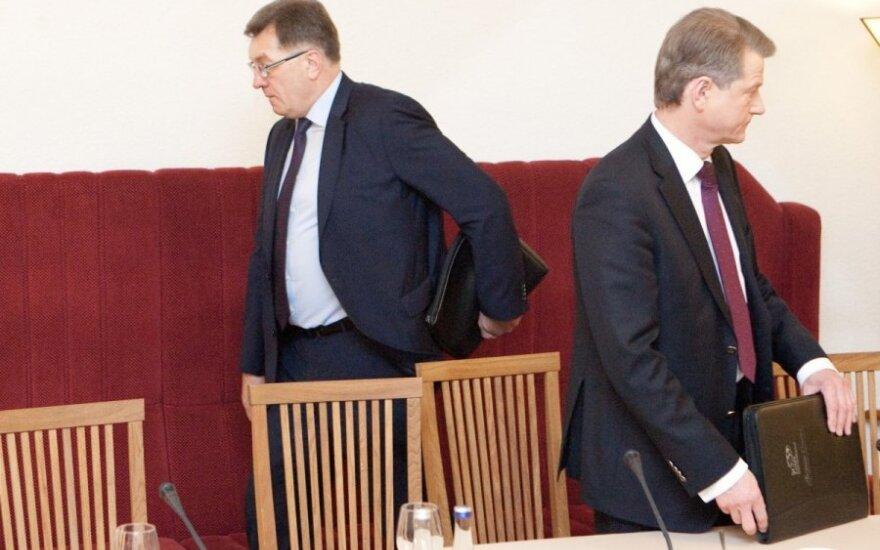 Kairiųjų rinkėjų Lietuvoje daugiau nei dešiniųjų?