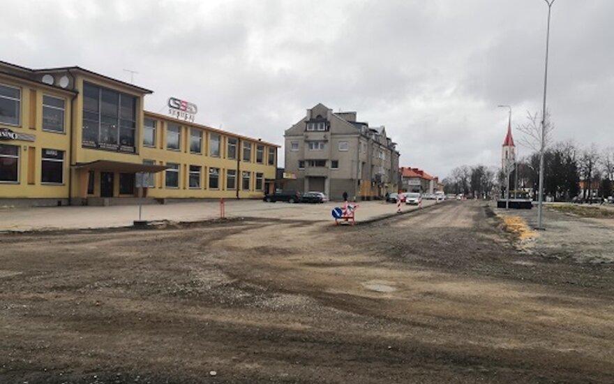Pradedama vienos pagrindinių Kretingos gatvių rekonstrukcija: laukia eismo pokyčiai