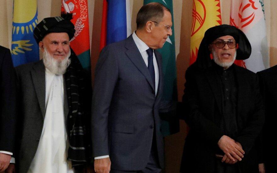 Afganistano taikos derybos Maskvoje