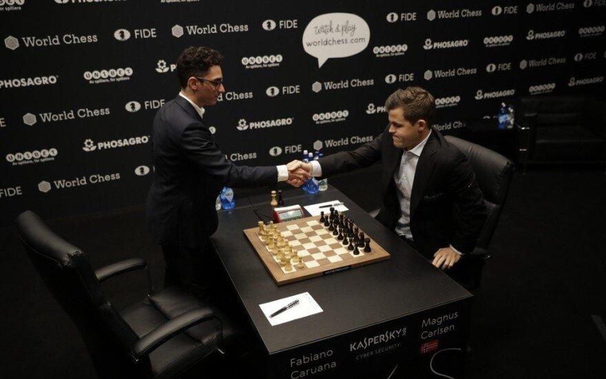 Kovoje dėl pasaulio šachmatų karūnos – istorinės lygiosios
