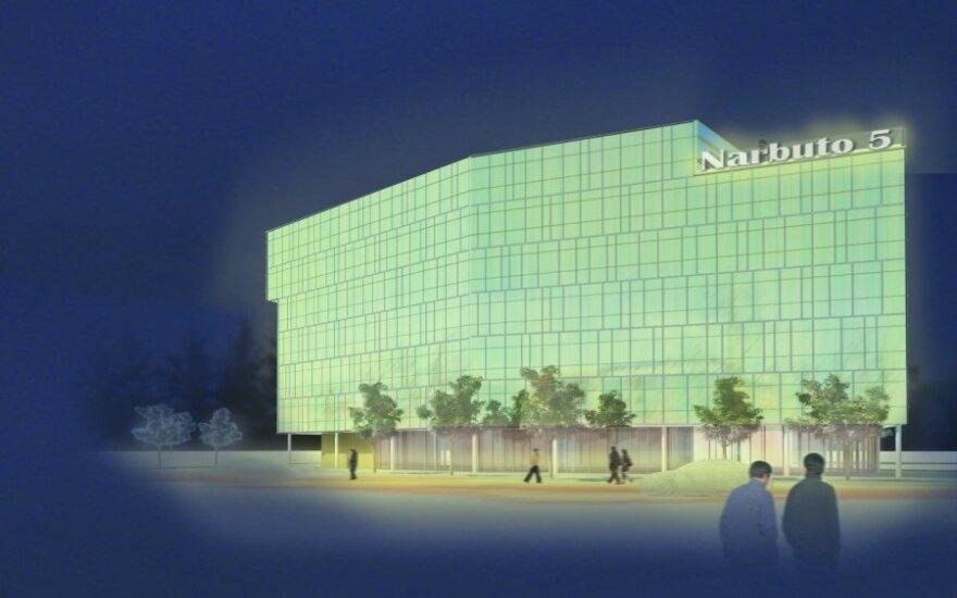 Vilniaus T.Narbuto g. iškils biurų pastatas
