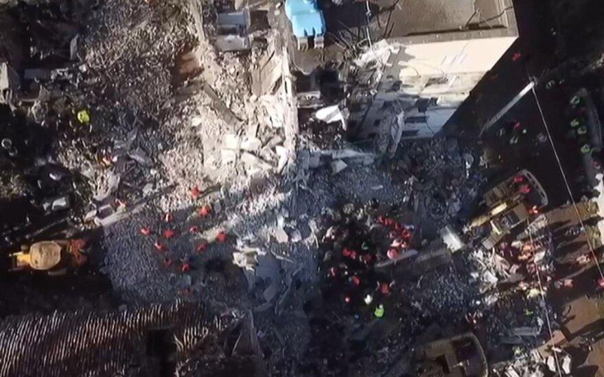 Albaniją supurtė stiprokas žemės drebėjimas