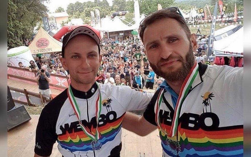 Andrejus Dolgovas ir Elijus Čivilis