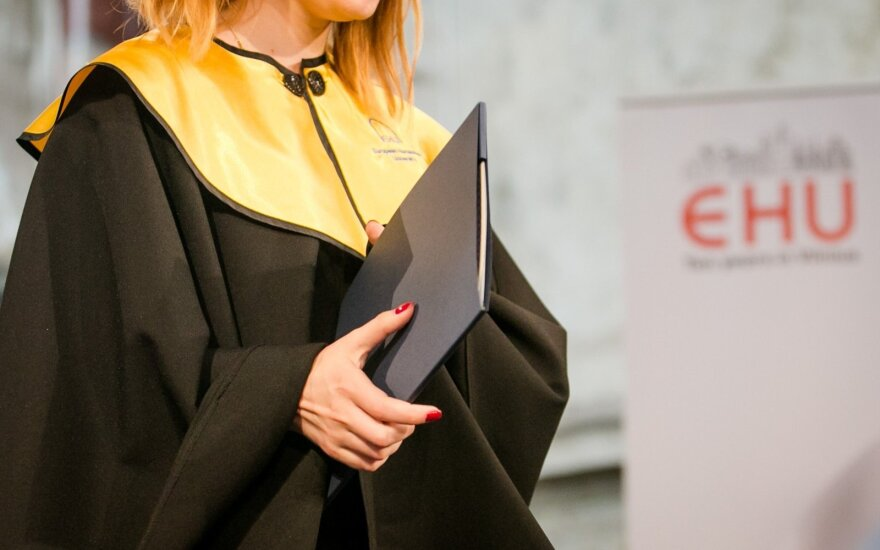 Vilnius-based EHU attracts fewer students