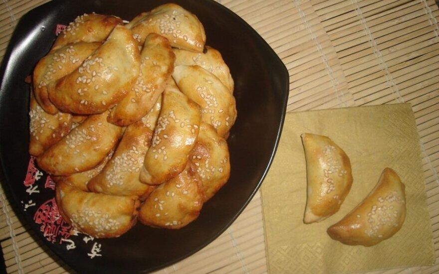 Pyragėliai su grybais