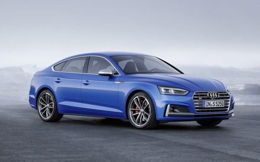 """Atnaujintas """"Audi S5 Sportback"""""""