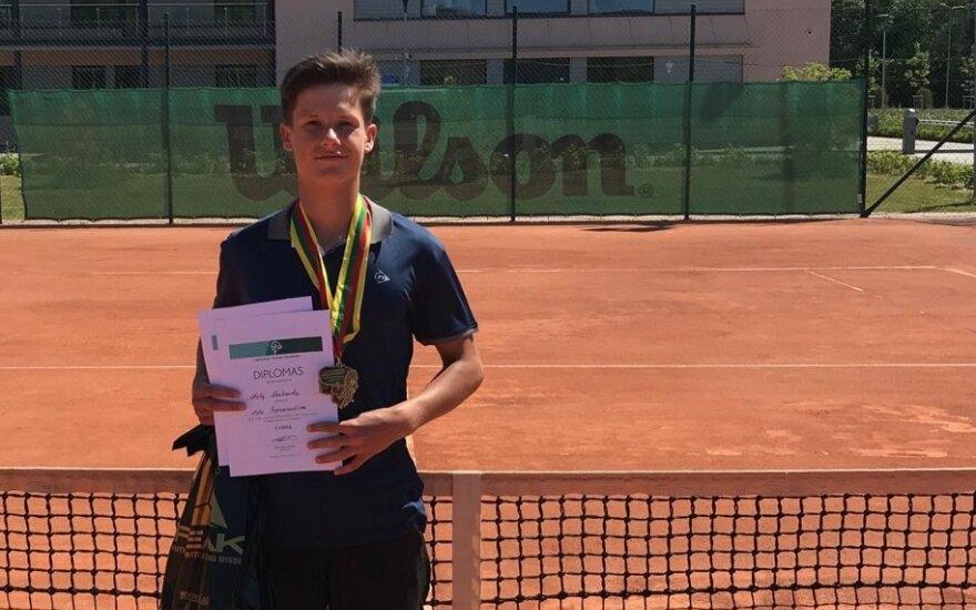 Matas Vasiliauskas / Foto: Lietuvos teniso sąjunga