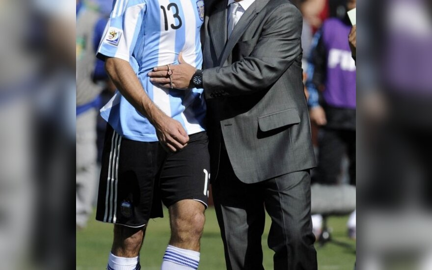 Walteris Samuelis ir Diego Maradona