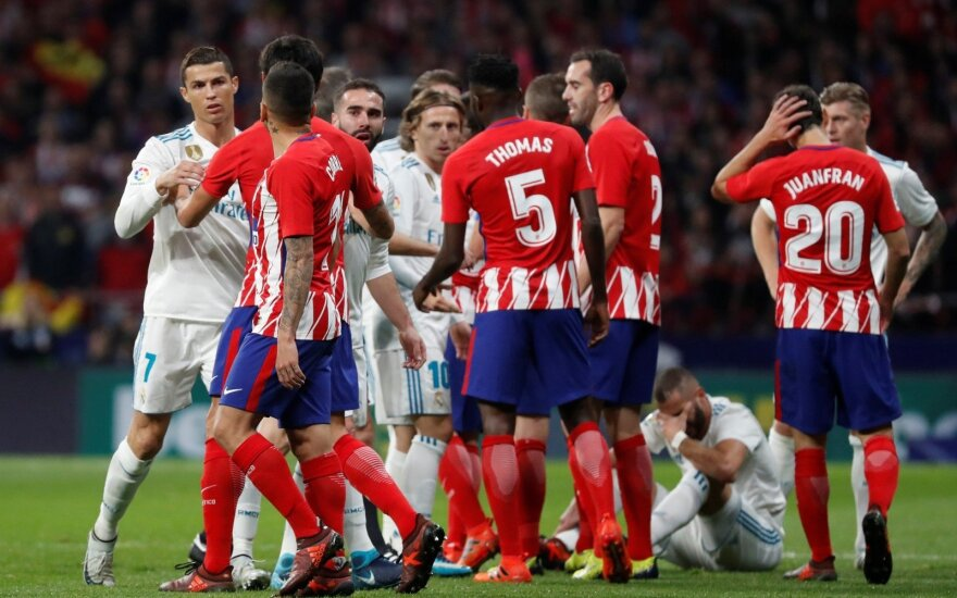 Madrido Atletico ir Madrido Real