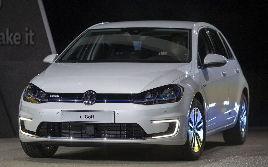 "Atnaujintas ""Volkswagen e-Golf"""