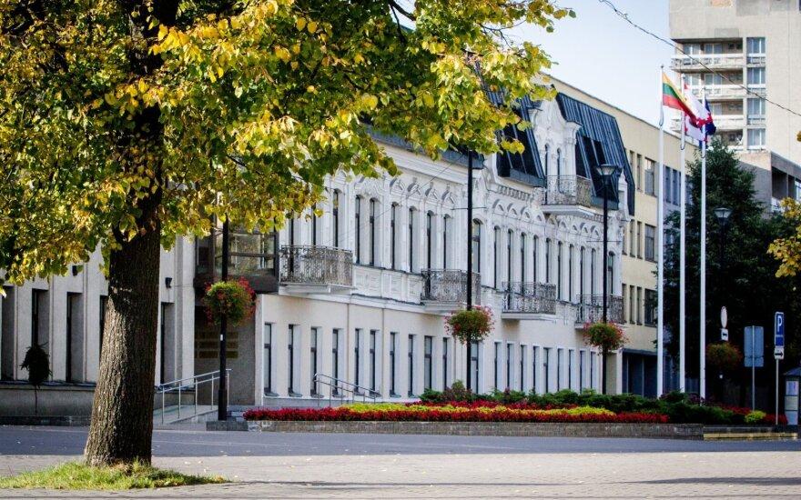 Panevėžio miesto savivaldybę purto STT pareigūnai
