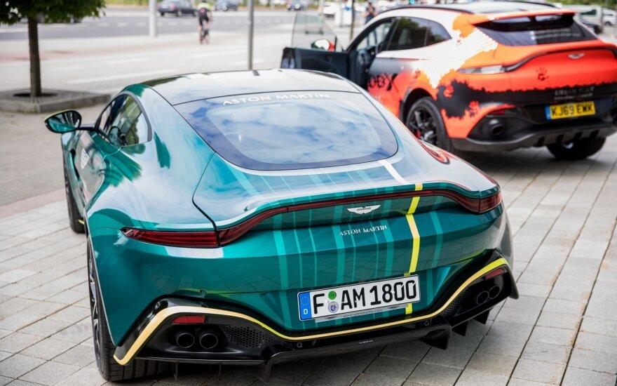 """Lietuvoje atsidarė pirmoji oficiali """"Aston Martin"""" atstovybė"""