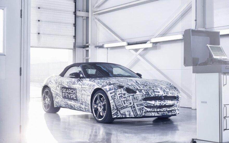 Jaguar F-Type prototipas