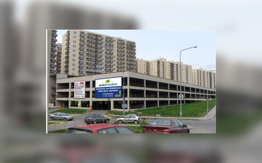 Vilniuje atidaromas naudotų automobilių prekybos centras