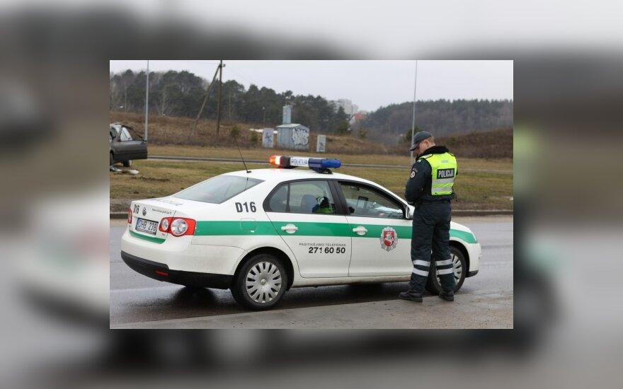 """""""Autopilotas"""": kelių patrulius prižiūri kameros"""