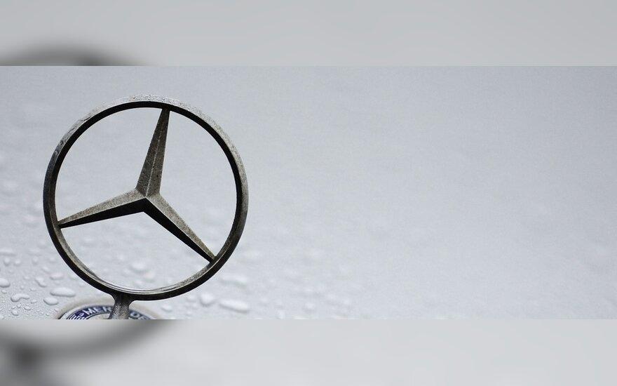 """Mercedes-Benz"" planuose – nauji kompaktiški modeliai"