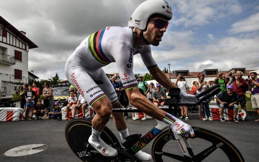 "Priešpaskutiniame ""Tour de France"" etape – olando pergalė"