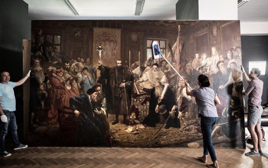 """Jano Mateikos paveikslas """"Liublino unija"""""""