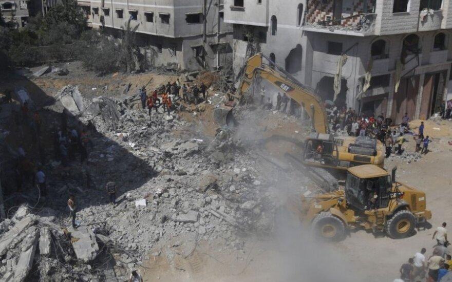 JT agentūra ragina Izraelį leisti įvežti papildomo kuro į Gazos Ruožą